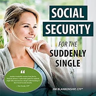 Social Security for the Suddenly Single audiobook cover art