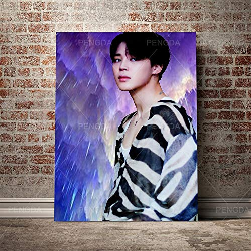 Jigsaw Puzzles 1000 pcs Kpop bts 50x75cm Wooden Jigsaw Puzzles Educational Challenge 1000 pcs Jigsaw Puzzle for Adults & for Kids Age 12 and Up