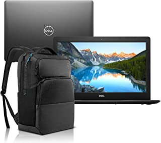 "Notebook Dell Inspiron i15-3583-M30BP Core i7 8GB 2TB Placa de vídeo Preto 15.6"" Windows 10 + Mochila Pro"