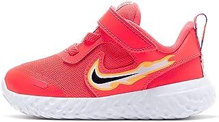 Nike Unisex-Child Revolution 5 Fire (TDV) Young Athletes