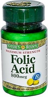 Nb Folic Acid 800mg Size 250ct