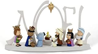 Kurt S. Adler PN5152 10 in. Battery-Operated LED Peanuts Lighted Nativity Scene