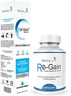 Best nutralyfe regain hair oil Reviews
