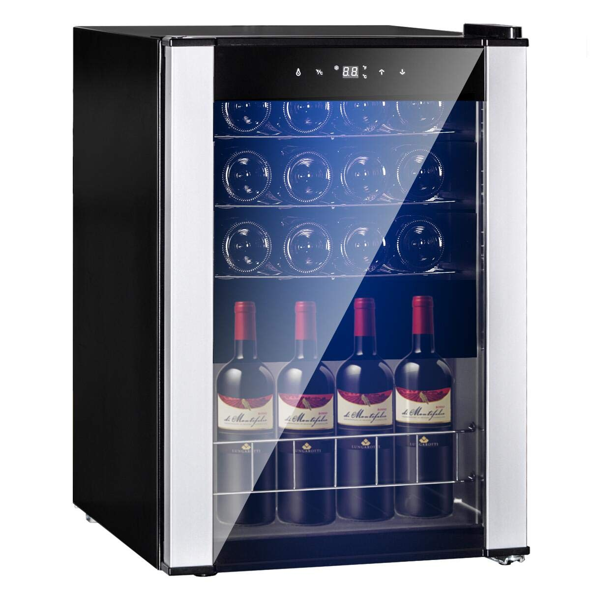 SMETA Refrigerator Champagne Operation Stainless
