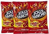 Jolly Rancher Hard Candy Cinnamon Fire Flavor Peg Bag, 7 oz, 3 pk