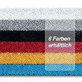 casa pura Kunstrasen Premium Color • Weicher Flor 25 mm • UV-beständig > 6000 h & wasserdurchlässig • Rasenteppich Meterware • Teppichrasen für Balkon, Terrasse, Deko (rot, 200x400 cm) - 2