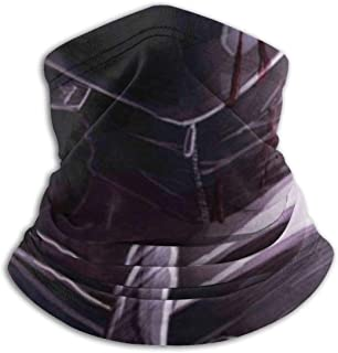 Balaclava Headband to-kyo Ghoul Scarf Bandana,Muffler,Neck Gaiter,Magic,Hatliner Sweatband Black