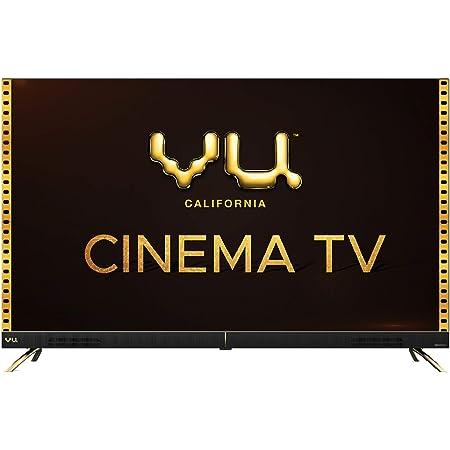 VU 126 cm (50 inches) 4K Ultra HD Cinema Android Smart LED TV 50CA (Black)   With 40W Front Soundbar