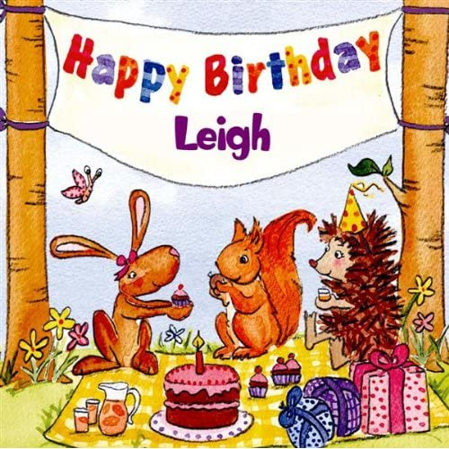 Happy Birthday Leigh By The Birthday Bunch On Amazon Music