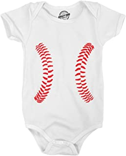 Baseball Laces Adorable Sport Infant Baby Creeper Bodysuit