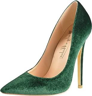 Best velvet green heels Reviews