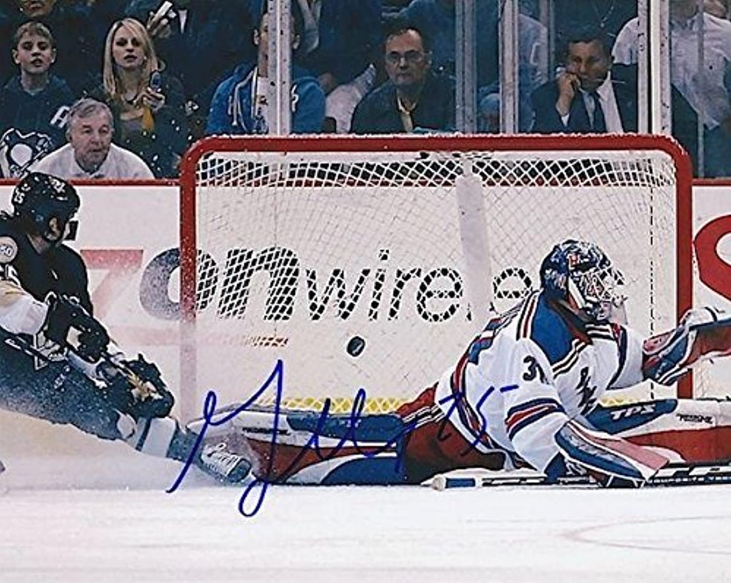 Maxime Talbot Autographed Photo8x10 COAAutographed NHL Photos