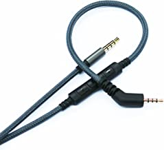 NewFantasia Replacement Cable Compatible with Bose QuietComfort 3, QC3 Headphones, Remote Volume Control Mic Compatible with Samsung Galaxy Sony Xiaomi Huawei Android