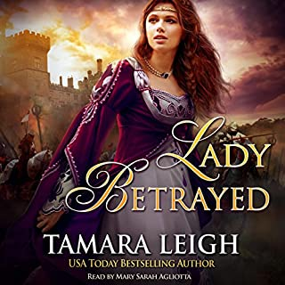 Lady Betrayed audiobook cover art