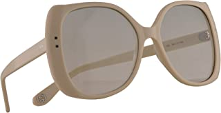 Gucci GG0472S Sunglasses Ivory w/Green Gradient Lens 56mm 005 GG0472/S 0472/S GG 0472S