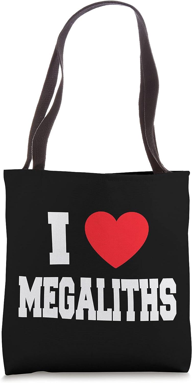 I Love Megaliths Tote Bag