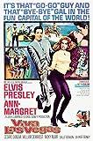Posterazzi Viva Las Vegas Center Left To Right: Elvis Presley Ann-Margret 1964. Movie Masterprint Poster Print, (11 x 17)