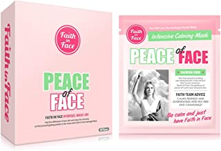 Faith in Face 10 Pcs Peace of Face Calming Care Hydrogel Facial Sheet Mask Pack, Calm Stressed Skin Intensive Face Hydrati...