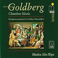 Goldberg: Chamber Music - Trio Sonatas; Quartet for 2 Violins, Viola & Basso (2008-04-01)