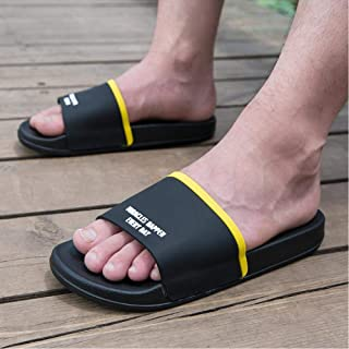 Couple Slippers Male Summer Wear Indoor Soft Bottom Bathroom Non-Slip Thick Bottom Home Bath Sandals And Slippers Female
