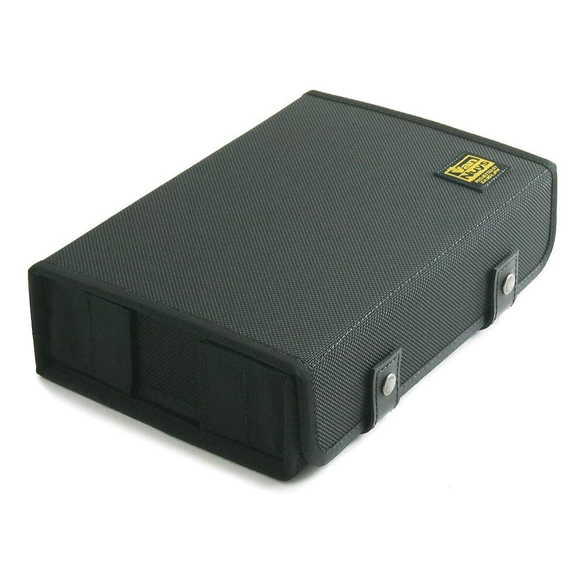 不可能なしなやかな政令バンナイズ (VanNuys) ULTRASONE Edition M 用キャリングケース ハードタイプ ( バリスティックナイロン製 ) ブラック