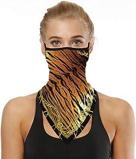 kolila Multifunctional Face Scarf Bandana Headwear for Men Women Headband Neck Gaiters for Dust Wind Motorcycle