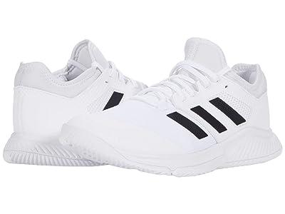 adidas Court Team Bounce (White/Black/Silver Metallic) Women