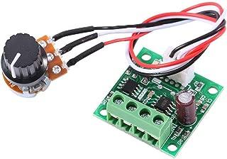 xuuyuu 電圧レギュレータ 速度コントローラー DCモーター 調光器モータ DC 1.8 V〜15 V 2A未満 低電圧 調整電流 調光スピードコントロール 電子ディマーサーモスタット
