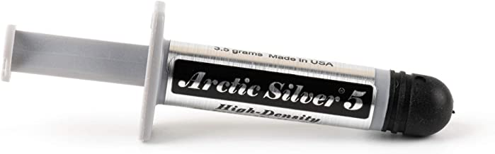 Arctic Silver 5 Thermal Compound 3.5 Grams with ArctiClean 60 ML Kit (D132)