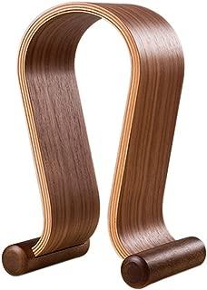$31 » SAMDI Wooden Walnut Wood Omega Headphone Gaming Headset Display Stand Holder Hanger