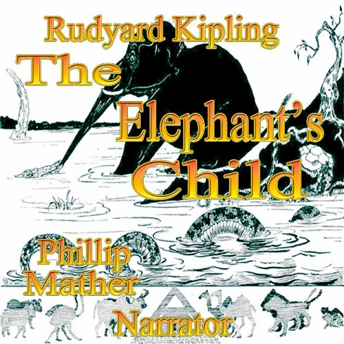 The Elephant's Child audiobook cover art