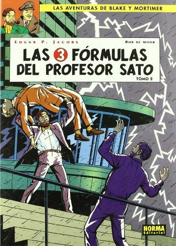 BLAKE Y MORTIMER 12. LAS 3 FÓRMULAS DEL PROFESOR SATO 2