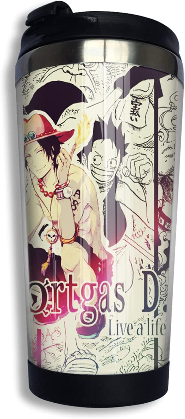 One Piece Portgas·D· Ace Anime Coffee Cup 3d Print 2021new Superior shipping free Thermos
