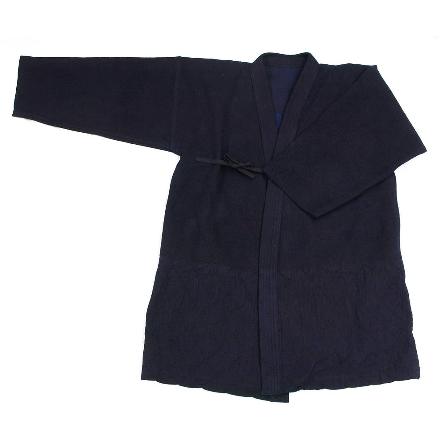 突然の通信するエンジニアリング剣道着 総手刺 背継 武州紺正藍染 オーダーメイド 日本製