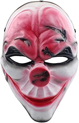 Fanfan Horror-Maske Creepy Lazy Maske Gesichter Be stigend Halloween Kostüm Party, Halloween Masquerade Maske (Gesichtsmaske)