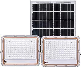 Solar Flood Lights Outdoor Motion Sensor Dubbele Hoofd 100W 200W 300W 400W 500W, Waterdichte Lens Solar Lights Outdoor Tui...