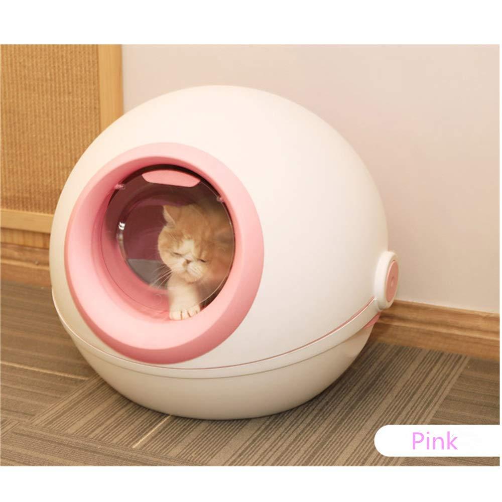 Lpinvin Caja de Arena para Gatos de Polietileno con Tapa: Amazon.es: Hogar