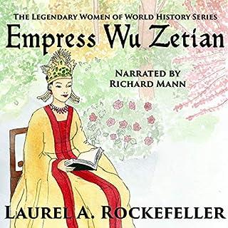 Empress Wu Zetian audiobook cover art