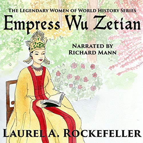 Empress Wu Zetian audiobook cover art