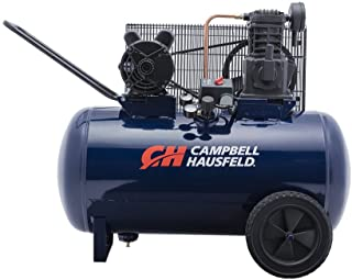 Air Compressor, 30-Gallon Horizontal Tank, Portable, Single-Stage, 10.2