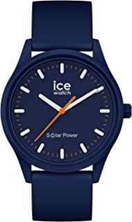 Ice-Watch - Ice Solar Power Atlantic - Montre Bleue Mixte avec Bracelet en Silicone - 017766 (Medium)