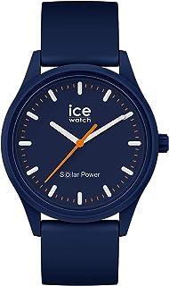 Ice-Watch - Ice Solar Power Atlantic - Montre Bleue Mixte avec Bracelet en Silicone - 017766 (Medium)