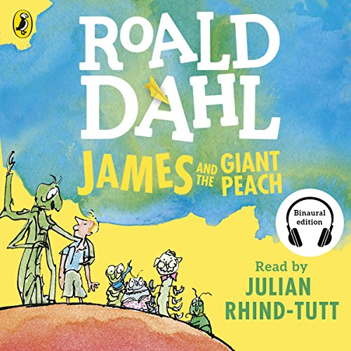 James and the Giant Peach audiobook cover art