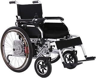 Inicio Accesorios Sillas de ruedas eléctricas para personas mayores Discapacitados Silla de ruedas motorizada plegable inteligente y ligera Silla de ruedas de motor dual potente Sistema de frenos E