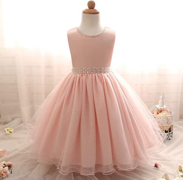 Baby Girl Kids Dresses For Wedding Evening Party Princess Dress Girl Costume Children Prom Fancy Tutu Dress Ceremonies Gown C00267F 24M