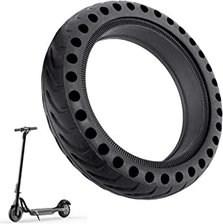 Tiapo Mi Scooter Tires, Electric Scooter Tire Honeycomb Design, 8.5 inches Rubber Solid Tire Front Rear Tire, Replacement Wheels for Xiaomi Mijia M365