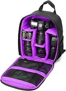 Kcnsieou cómoda suave impermeable cámara mochila para EOS DSLR/SLR cámara