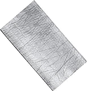 VICASKY 6 Folhas de Amortecimento de Borracha Algodão Folha De Alumínio Isolamento Acústico Algodão Algodão Absorvente de ...