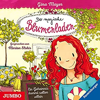 Ein Geheimnis kommt selten allein     Der magische Blumenladen 1              Autor:                                                                                                                                 Gina Mayer,                                                                                        Joelle Tourlonias                               Sprecher:                                                                                                                                 Marion Elskis                      Spieldauer: 1 Std. und 17 Min.     11 Bewertungen     Gesamt 4,5