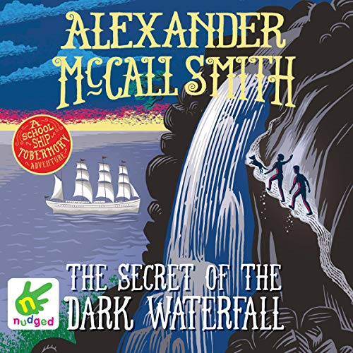 The Secret of the Dark Waterfall audiobook cover art